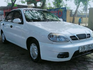 Bán xe Daewoo Lanos năm sản xuất 2002, màu trắng