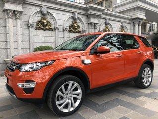 Bán LandRover Discovery sản xuất 2017, xe nhập, màu cam