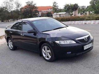 Bán Mazda 6 đời 2003, màu đen, xe nhập