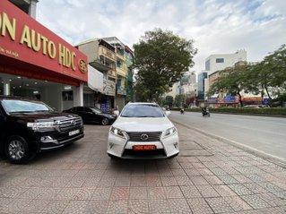 Bán xe Lexus RX350 sản xuất 2014 đk 2015, nhập Nhật, màu trắng nt kem, đi chuẩn 63000km