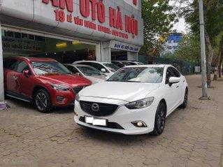 Mazda 6 2.0 SX 2016 màu trắng, xe TNCC đi rất ít nội ngoại thất đẹp
