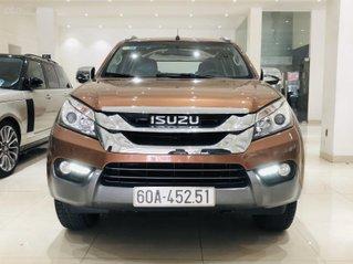Bán xe Isuzu Mu-X 2.5MT sx 2017, số sàn máy dầu, nhập Thái, đi 40000km, xe đẹp không lỗi