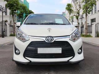 Cần bán gấp Toyota Wigo đời 2019, màu trắng, số sàn
