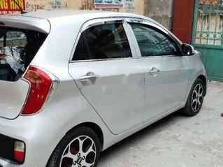 Cần bán lại xe Kia Morning đời 2014, màu bạc còn mới