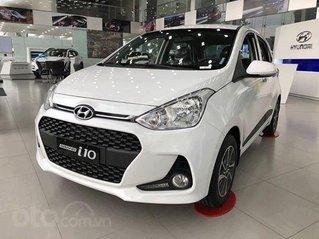 Hyundai i10 ưu đãi 10 triệu tiền mặt, full bộ phụ kiện, xe đủ màu giao ngay