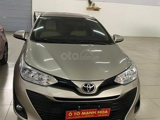 Cần bán Toyota Vios 1.5E CVT 2018, màu bạc, giá 478tr