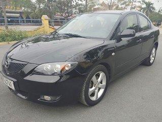 Cần bán lại xe Mazda 3 2004, màu đen chính chủ, 182 triệu