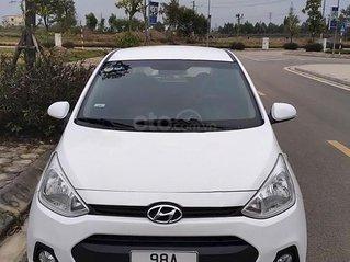 Cần bán lại xe Hyundai Grand i10 sản xuất năm 2014, màu trắng
