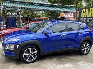 Cần bán lại xe Hyundai Kona đời 2018, màu xanh lam