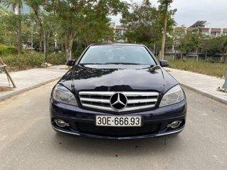 Xe Mercedes C class đời 2010, màu xanh lam còn mới