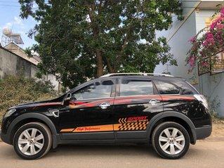 Bán Chevrolet Captiva đời 2009, màu đen, nhập khẩu