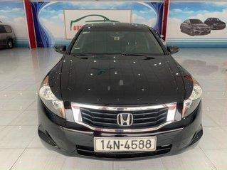 Bán Honda Accord 2008, màu đen số tự động, giá tốt