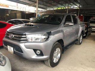 Bán xe Toyota Hilux đời 2016, màu bạc, nhập khẩu