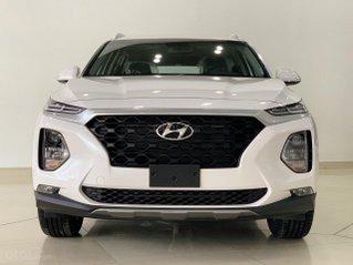 Hyundai Santafe 2021 tiếp tục hỗ trợ 50% phí trước bạ - cùng nhiều phần qùa hấp dẫn - xe có sẵn đủ màu giao ngay