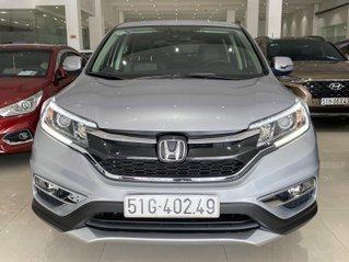 Bán xe Honda CRV 2.4L màu bạc, xe đẹp, biển SG, trả góp chỉ 276 triệu