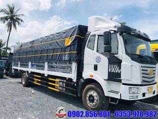 Xe tải 8 tấn thùng 9.7 mét, nhập khẩu 2021 chuyên chở pallet và bao bì giấy