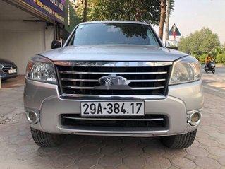 Bán ô tô Ford Everest sản xuất năm 2011, màu bạc chính chủ, giá tốt