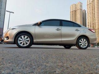 Vios 1.5G màu vàng cát model 2016 - xe tư nhân, biển Hà Nội