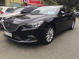 Cần bán xe Mazda 6 2.0 AT năm sản xuất 2016, màu đen, giá chỉ 620 triệu