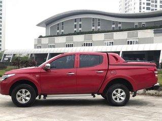 Xe Mitsubishi Triton 4x2 AT sản xuất năm 2016, màu đỏ, xe nhập, 480 triệu