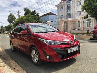 Cần bán gấp Toyota Vios 1.5AT năm sản xuất 2019, màu đỏ, 538tr