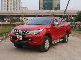 Cần bán Mitsubishi Triton đời 2016, màu đỏ, giá chỉ 480 triệu