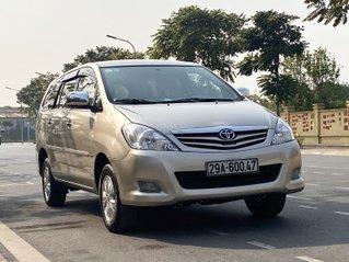 Toyota Innova 2012 SR, màu vàng cát số sàn