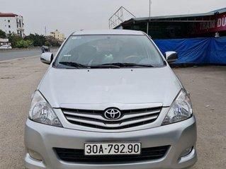 Bán Toyota Innova năm sản xuất 2009, giá thấp, động cơ ổn định
