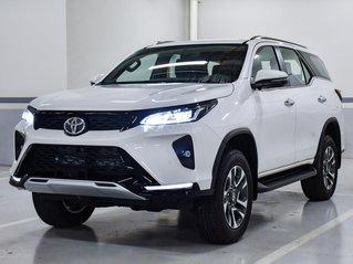 Toyota Fortuner phiên bản Legender 2021 đủ màu giao ngay, hỗ trợ trả góp Toyota lãi suất tốt