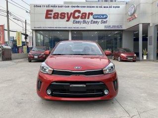 Kia Soluto Deluxe 2019, màu đỏ, trả trước 150 triệu nhận xe ngay