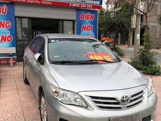 Bán xe Toyota Corolla Altis sản xuất 2012, màu bạc