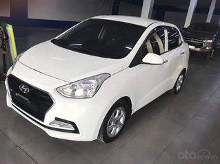 Cần bán xe Hyundai Grand i10 1.2 AT 2019, màu trắng