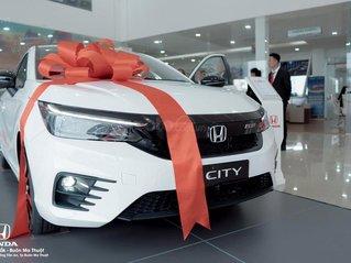 Honda City RS 2021, đủ màu giao ngay, Honda Ô tô Đăk Lăk, hỗ trợ trả góp 80%, giá ưu đãi cực tốt