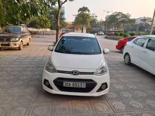 Cần bán lại xe cần bán xe Hyundai i10 sản xuất 2015 màu trắng, xe gia đình đi giữ gìn còn rất tốt