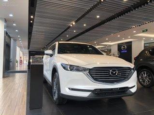 Mazda CX-8 ưu đãi khủng cuối năm lên đến 100tr, cam kết giao xe trước tết, hỗ trợ trả gióp miễn chứng minh thu nhập