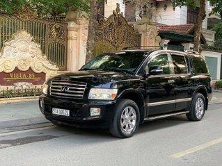 Cần bán gấp Infiniti QX56 nhập Mỹ 2005 màu đen - lăn bánh 100.000km - giá 980tr - biển thành phố - hỗ trợ trả góp 70%