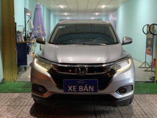 Bán Honda HR-V bản G 1.8 sản xuất 2019 màu bạc biển tỉnh lăn bánh 23.000km