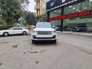 TF1 Auto chào bán Land Rover: Range Rover Autobiography LWB, model 2021 màu trắng, nội thất nâu