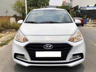 Bán xe Hyundai Grand i10 năm sản xuất 2017, màu trắng, giá chỉ 346 triệu