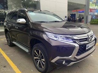 Cần bán gấp Mitsubishi Pajero 2.5AT năm 2018, màu nâu, xe nhập