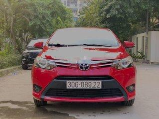 Cần bán lại xe Toyota Vios G năm 2015, giá ưu đãi
