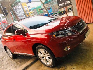 Cần bán lại xe Lexus RX 450 H đời 2010, màu đỏ, nhập khẩu
