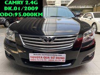 Cần bán Toyota Camry 2.4G sản xuất 2009, màu đen giá cạnh tranh