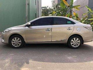 Bán ô tô Toyota Vios đời 2017, nhập khẩu, màu nâu vàng
