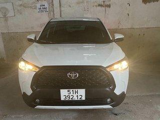 Cần bán lại xe Toyota Corolla Cross đời 2020, màu trắng