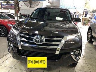 Bán ô tô Toyota Fortuner đời 2018, màu đen, xe nhập