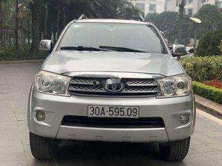 Cần bán xe Toyota Fortuner sản xuất 2009, màu bạc