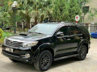 Chợ xe Nhật Hàn bán Fortuner 2014 máy dầu số sàn, xe màu đen xe bao cực chất, nguyên bản, giá 645 triệu
