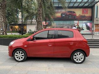 Cần bán Mitsubishi Mirage năm 2014, màu đỏ, mới 95%, giá tốt 285 triệu đồng