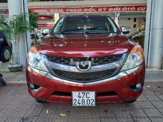 Bán Mazda BT 50 năm 2015, màu đỏ, xe nhập, ít sử dụng
